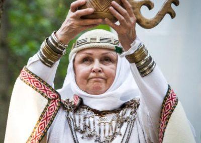 Krivė Inija Trinkūnienė. V. Balkūno nuotr.
