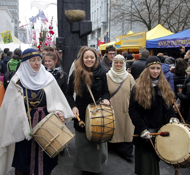 Romuvos apeigų grupė atliko kasmetinę apeigą