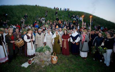 Rasos šventė Verkių parke