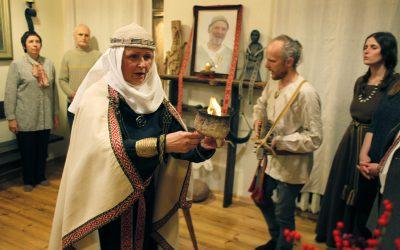 Romuvos krivulė surengta Krivio Jauniaus alke Vilniuje