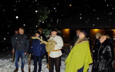 Elnias Devyniaragis aplankė Panevėžio Romuvos bendruomenę