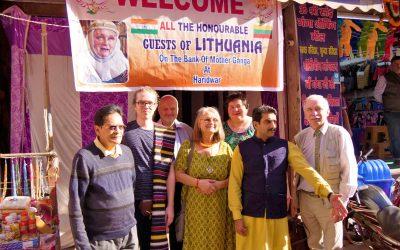Romuvos atstovai viešėjo Indijoje